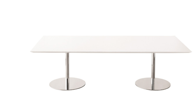 Gui Dining Table White Laminate Chrome Or Black Or Gold Legs 94 3400 118 3700 Dining Table Table Folding Table