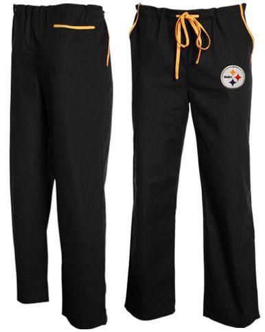 brand new 700c9 4d035 Pittsburgh Steelers NFL Scrub Pants   Steelers Gear ...