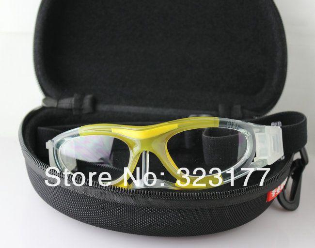 6e9e5d07765 Kid Child Boys Girls Basketball Glasses Prescription football Goggles Nose  protection