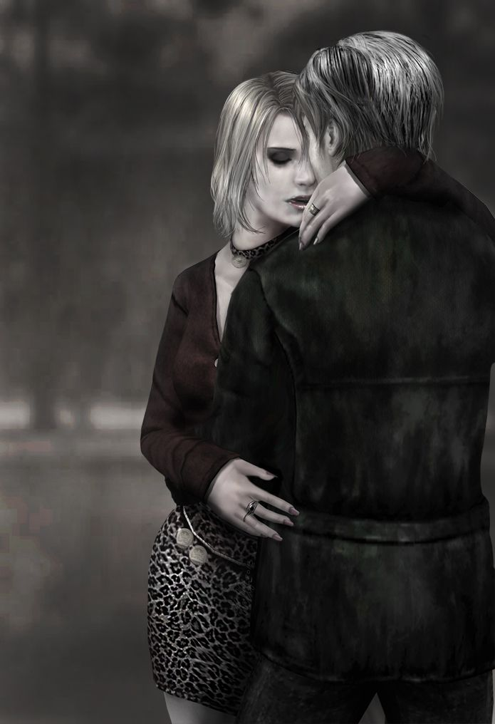 Mariah And James By Fanat08 On Deviantart Silent Hill Art Silent Hill 2 Silent Hill