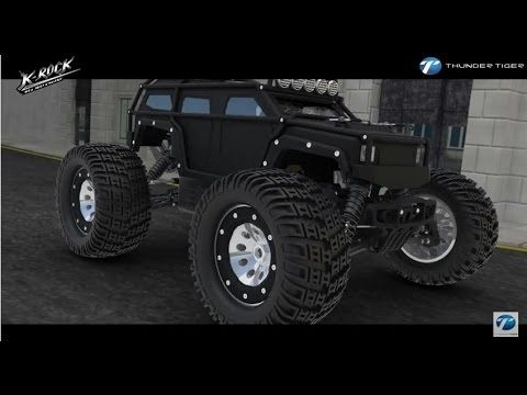 Thunder Tiger K Rock Mt4 Mid Engine Monster Truck Monster Trucks