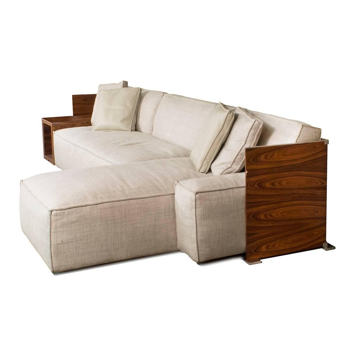 Cassina My World Sectional Sofa With Wood Shelves By Philippe Starck Italy 1stdibs Com Sectional Sofa Wood Shelves Sectional