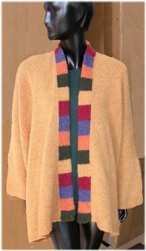 Merino Frappe Kimono Jacket By Ann Norling And Sandi Rosner Je