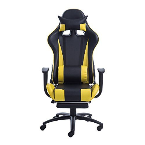 water chestnut gaming chair high back swivel leather computer chair
