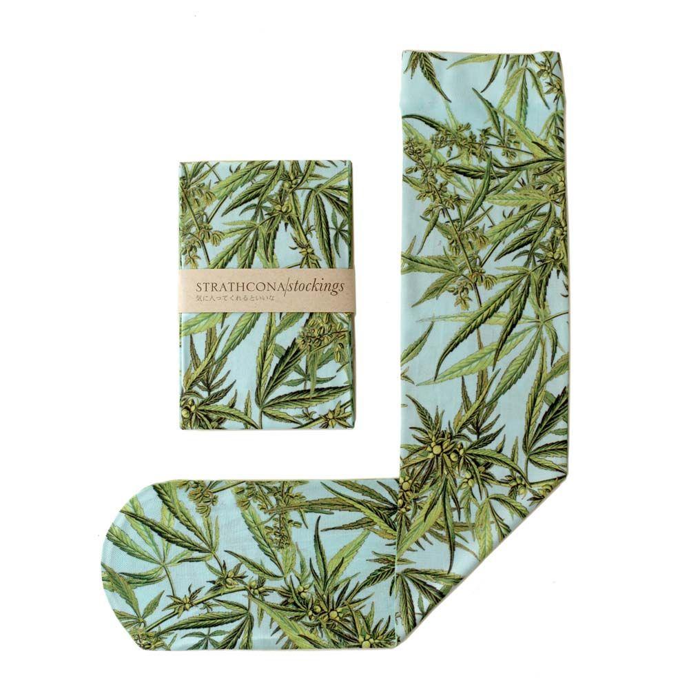 Green Designer Inspired PLANT LEAF Chaussettes