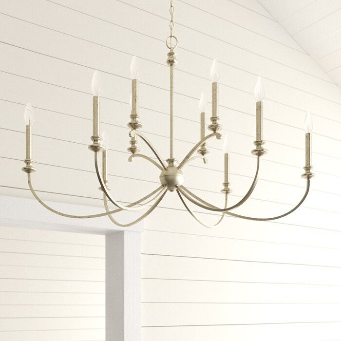Alexander 10 Light Candle Style Tiered Chandelier