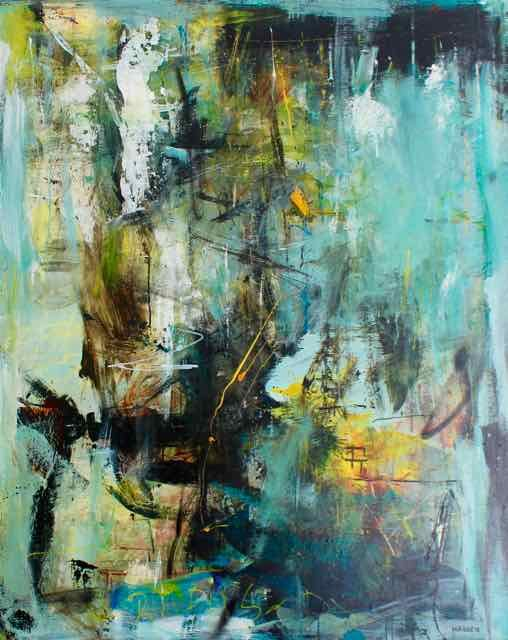 Lars Kristian Hansen  Abstract Painting    Abstract