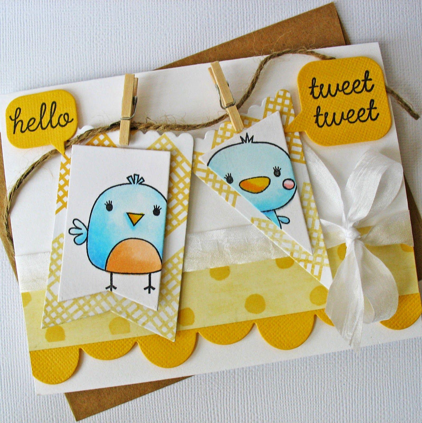 Card-Blanc by Kathy Martin: Reverse Confetti