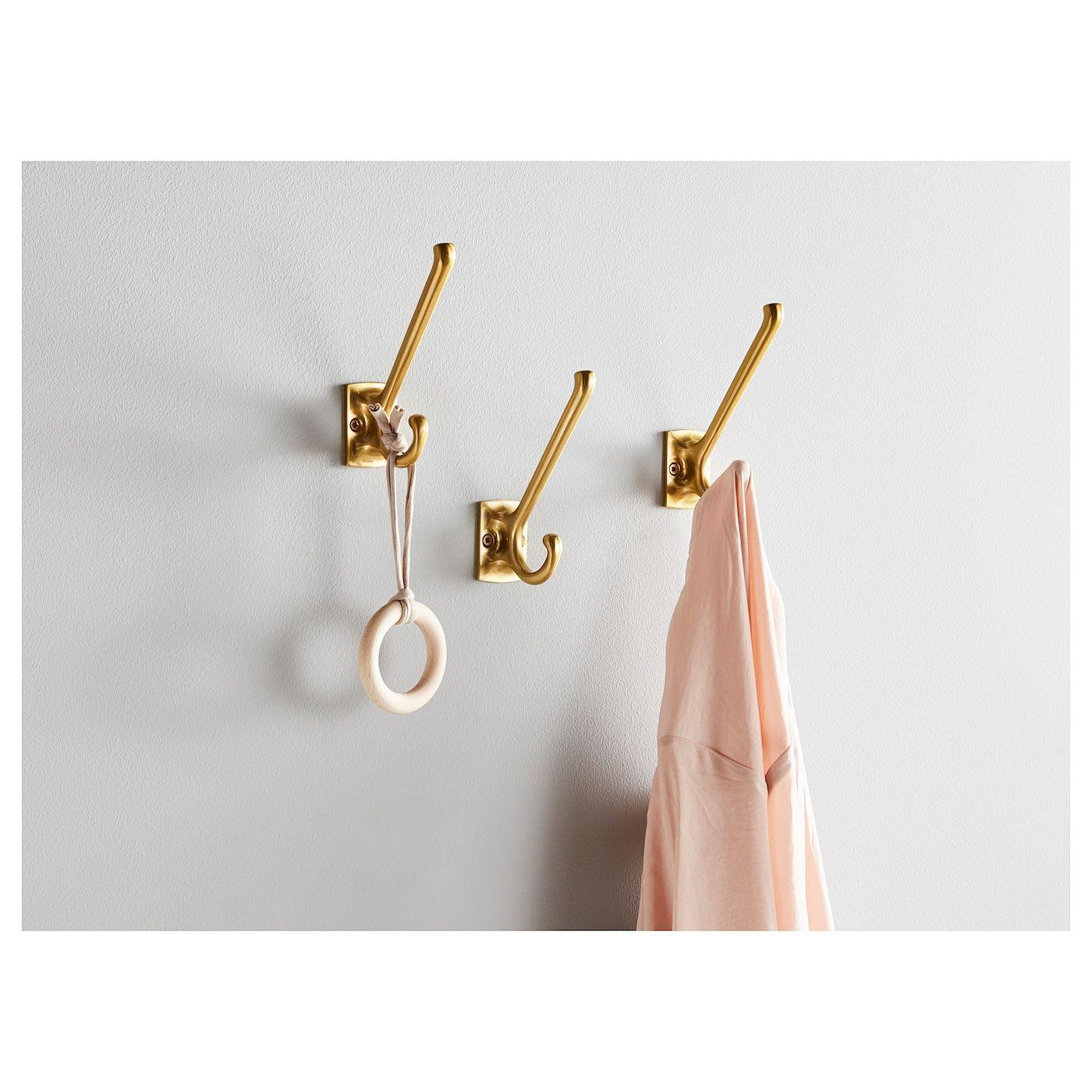 Kampig Hook Brass Color Messingfarben Ikea Haken Haken