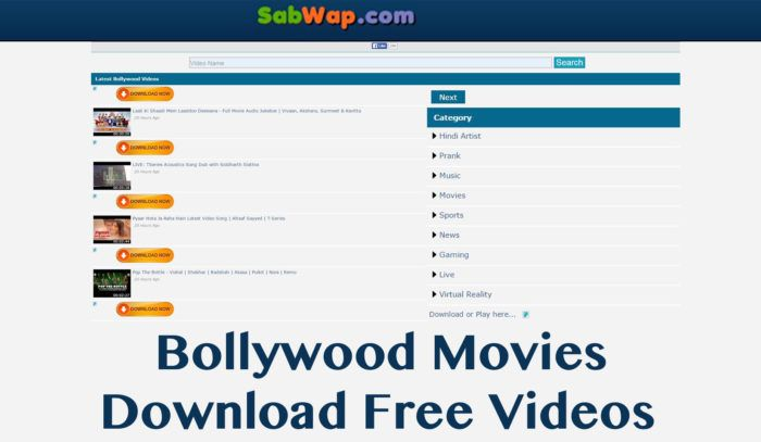 One of the best 3gp mobile movie download sites as it does feature not only  3GPs but also MP4 and HD format tool. There are Hollywood movies, Bollywood  ...