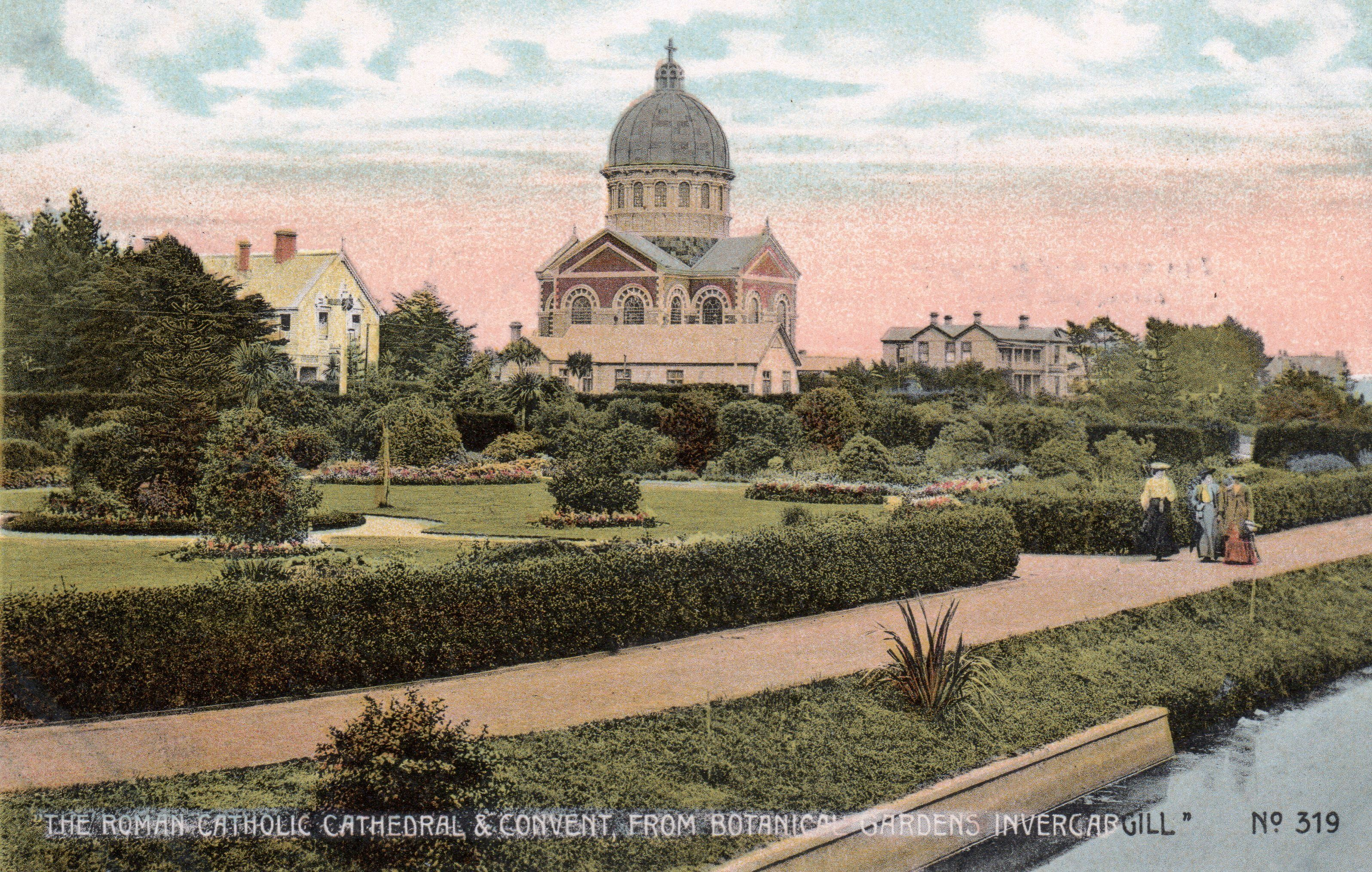 The Roman Catholic Cathedral & Convent, from Botanical Gardens ...
