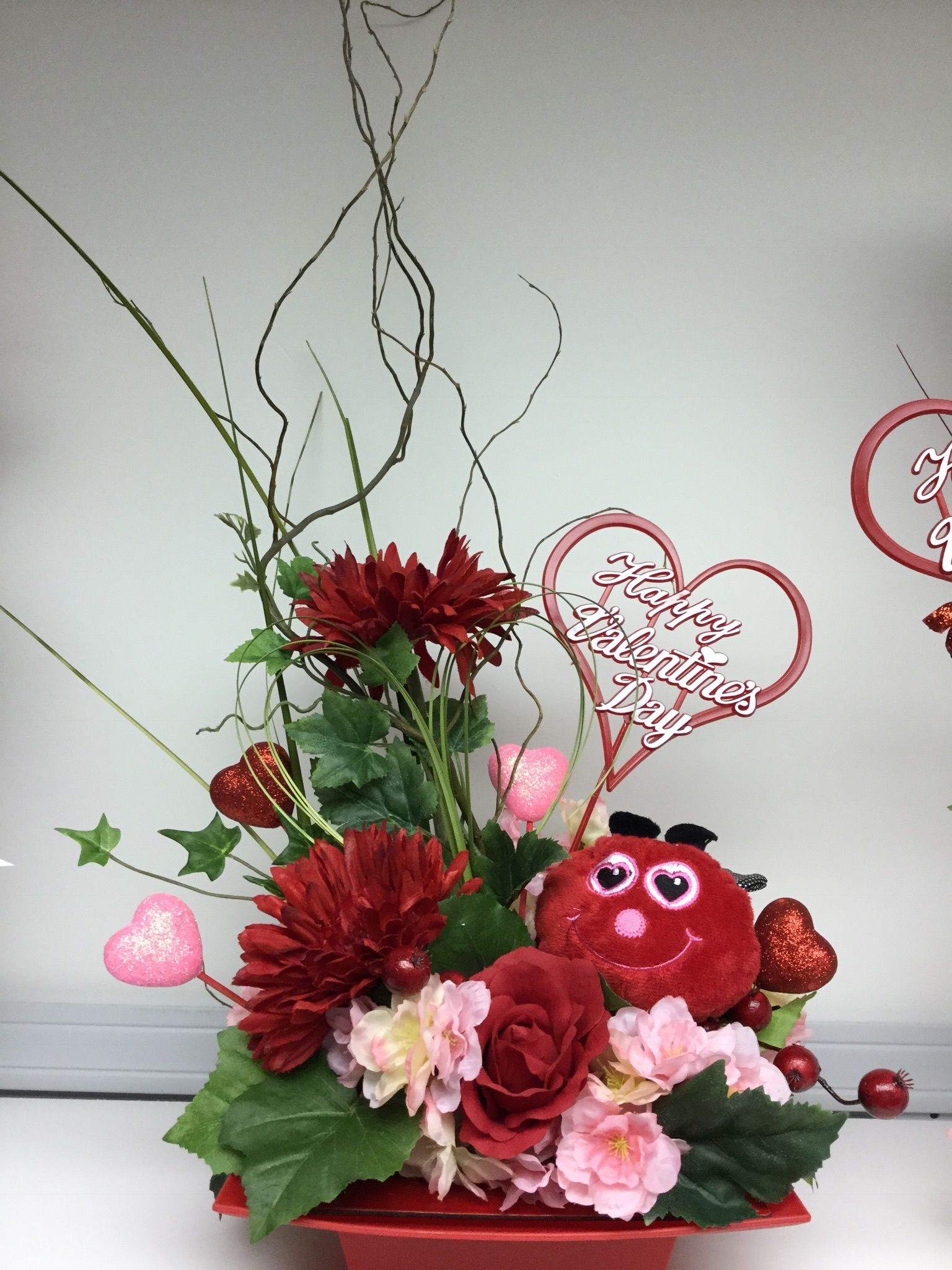 Silk Florals Llc Valentine Arrangements 2018 Valentine S Day Flower Arrangements Valentine Flower Arrangements Flower Arrangements