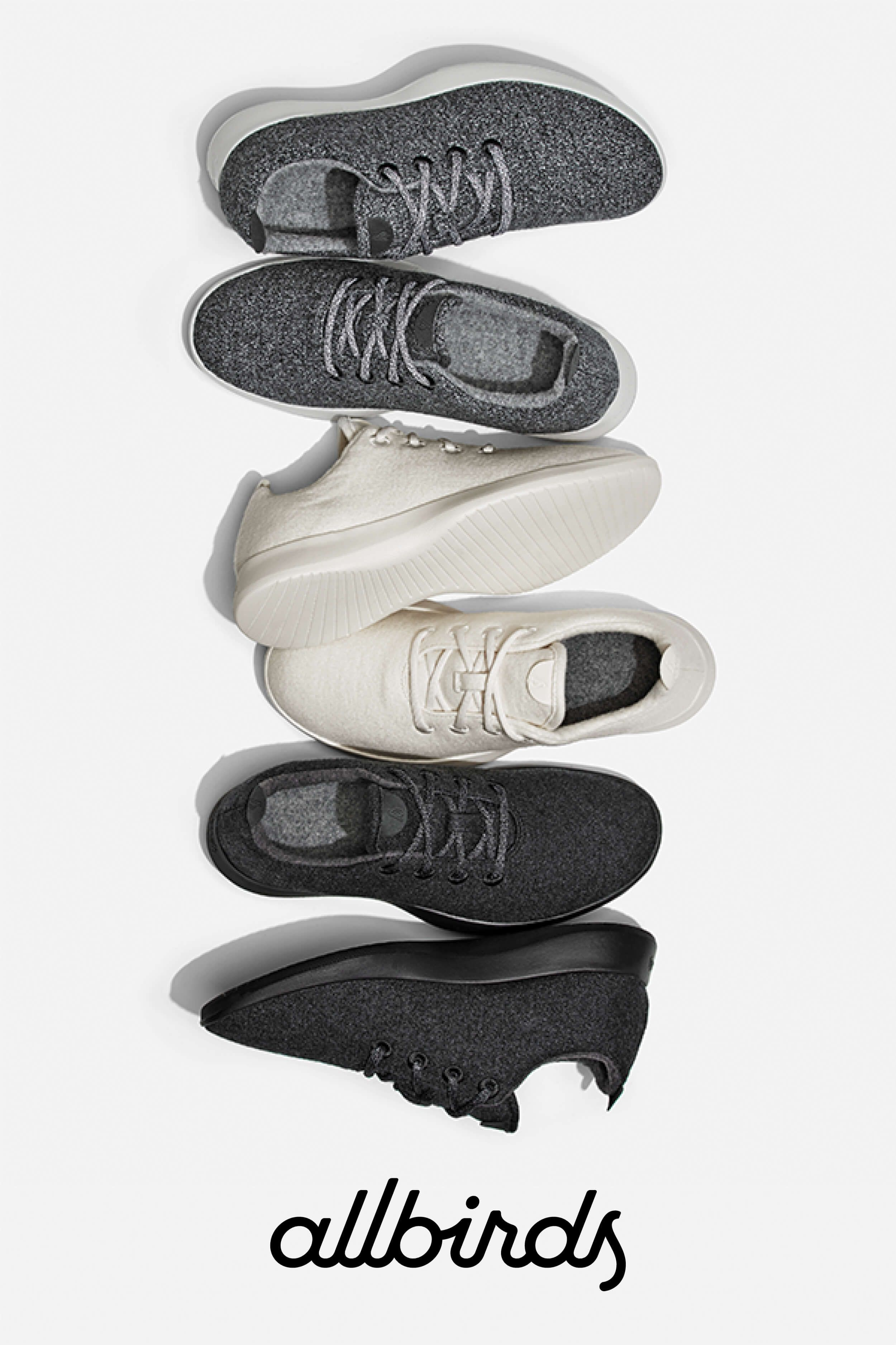 f080bad07820 One shoe for all you do. The Wool Runners from Allbirds made from  sustainable