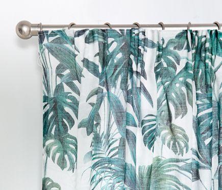 Visillo Fruncido Foli Leroy Merlin Curtains Shower Deco