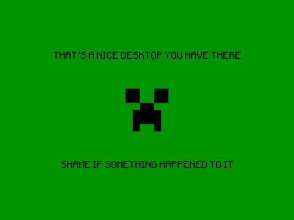 Minecraft Wallpaper First Post Sharenator Minecraft Funny Funny Funny Wallpaper