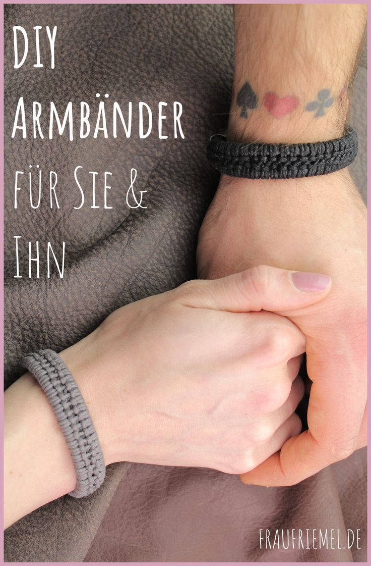 Photo of Armbänder für Männer selber machen | frau friemel