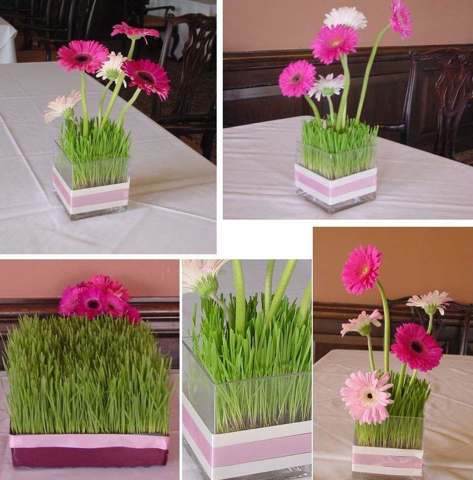 Gazon artificiel ou frais pour d corer votre table festive - Decorer une table ...