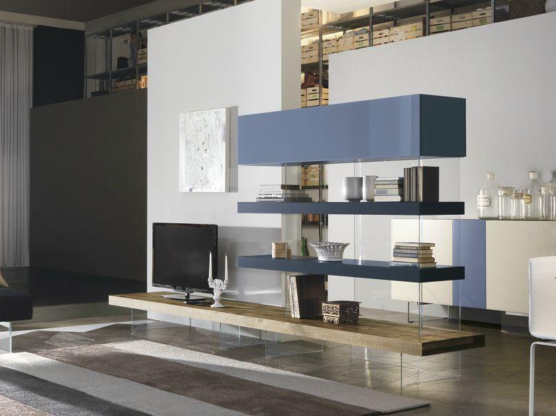 AIR WILDWOOD | Parete attrezzata By Lago design Daniele Lago | Casa ...