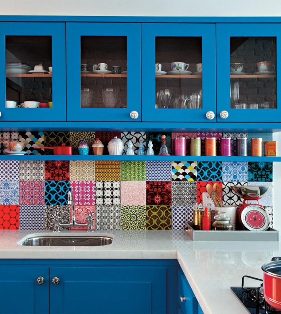 Fun Backsplash Patterns Your Kitchen Needs | Patchwork tiles ...
