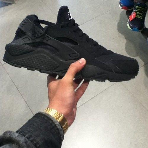 Nike Huarache Black Tumblr