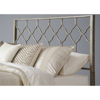 Honeycomb Deluxe Brushed Gold Headboard Free Shipping Today