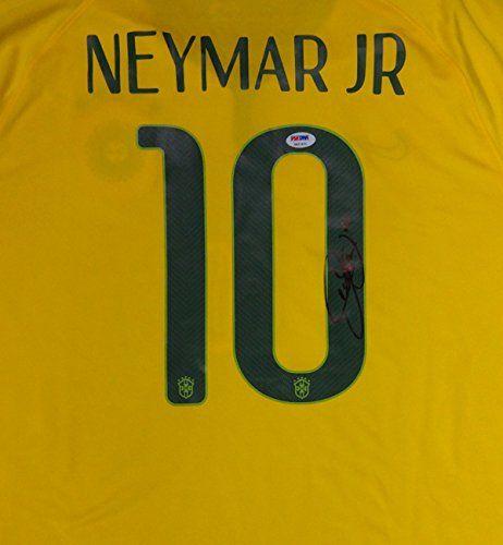 Neymar Jr. Autographed Brazil CBF Nike Authentic Jersey Size XL PSA/DNA -- Click image for more details.