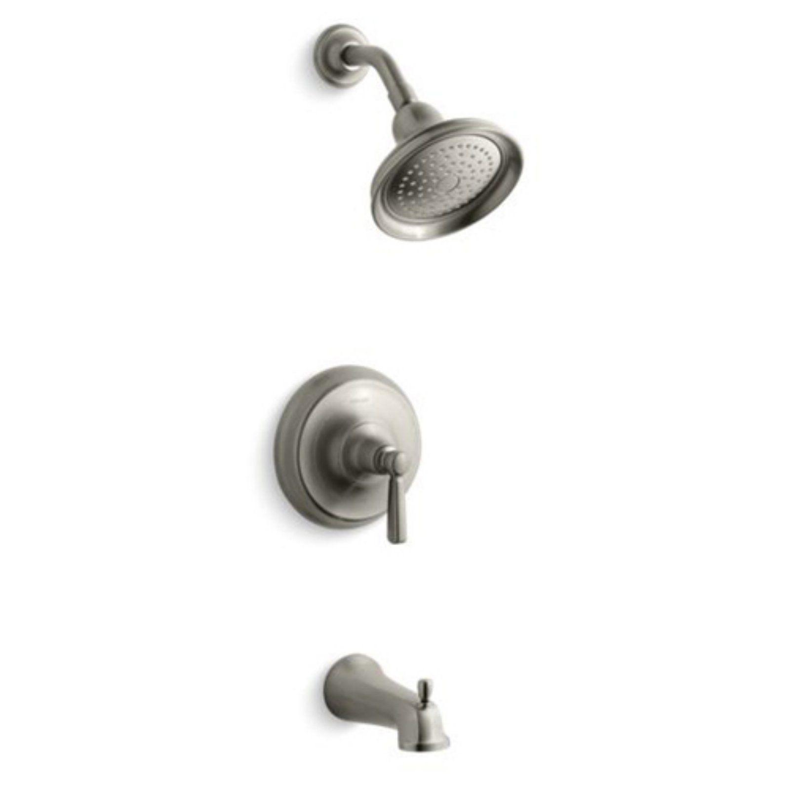 Kohler Bancroft Kts10582 4 Rite Temp Bath And Shower Set With