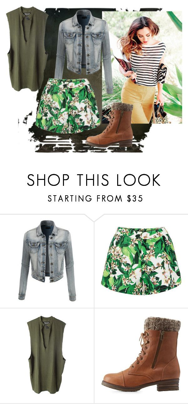"""Chapter 9 - Rose"" by lucy-bromley ❤ liked on Polyvore featuring LE3NO, adidas Originals and Charlotte Russe"