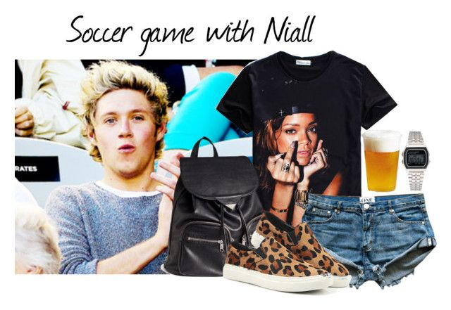 """Soccer game with Niall"" by diihpm ❤ liked on Polyvore featuring H&M, Softech, Kinto, women's clothing, women's fashion, women, female, woman, misses and juniors"