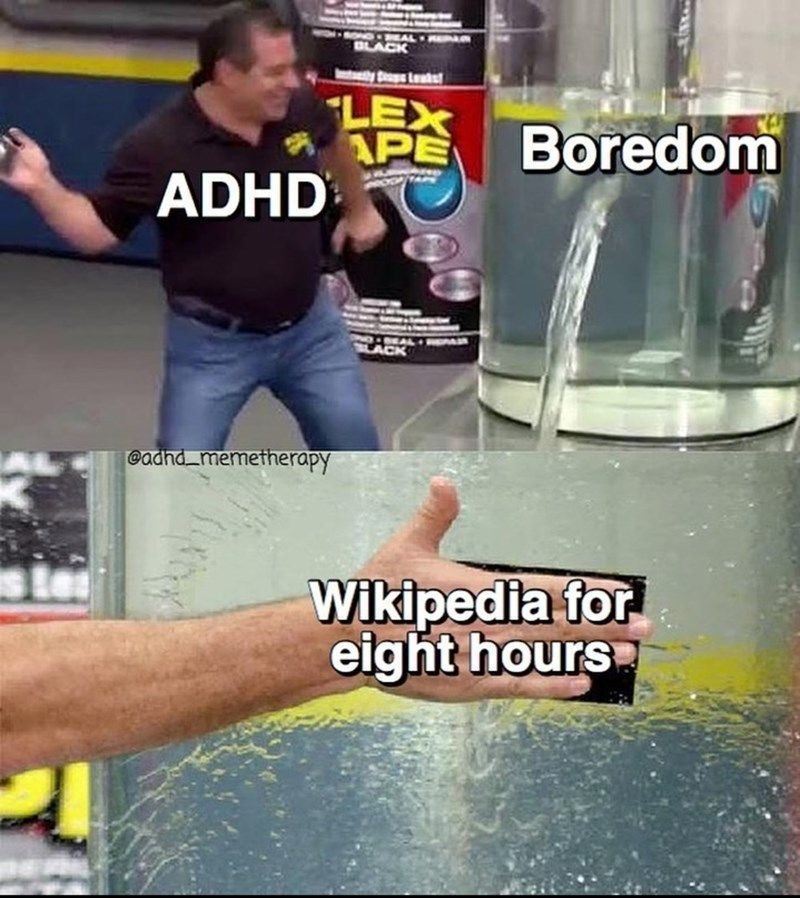 ADHD Memes For Those Who Just Can't Stay Focused