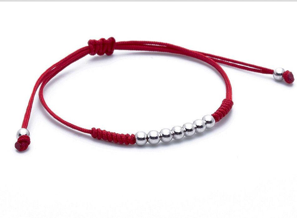 e24a2cde0787 Cheap Encanto de la moda 4mm perlas Trenzado Pulseras Macrame ...