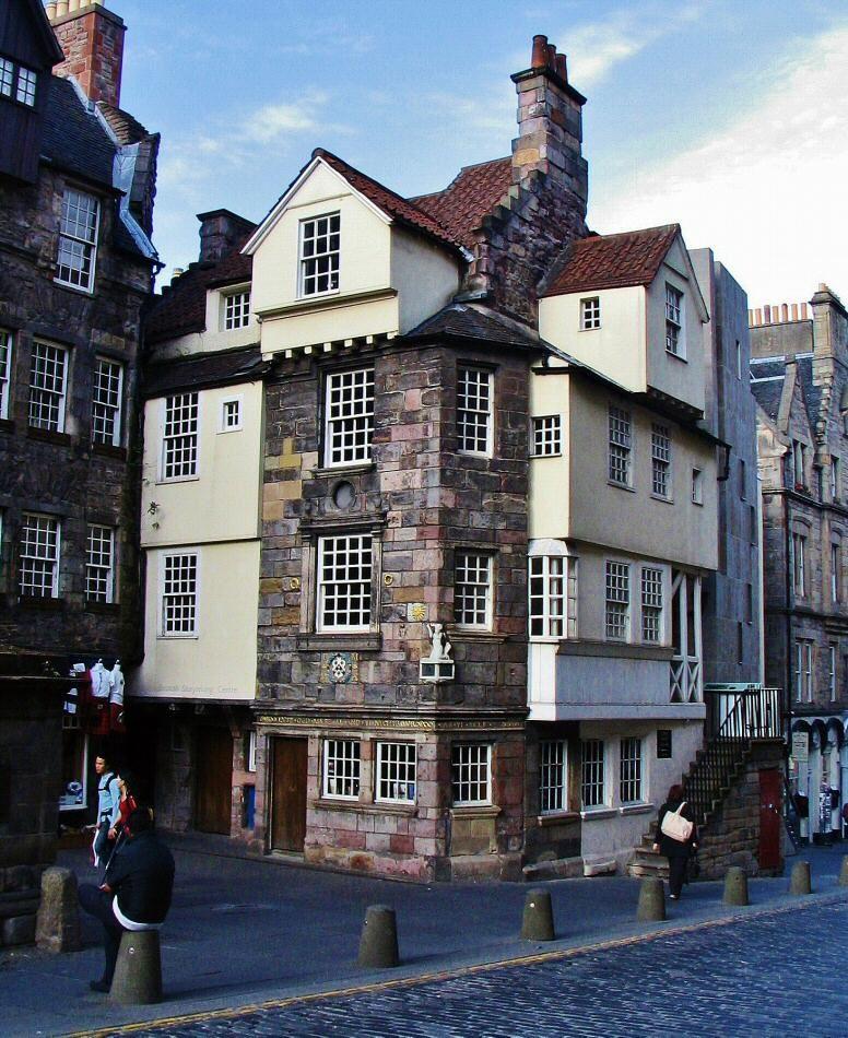 John Knox House, la casa medieval más antigua de Edimburgo