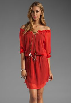 Akiko Off the Shoulder Dress on shopstyle.com