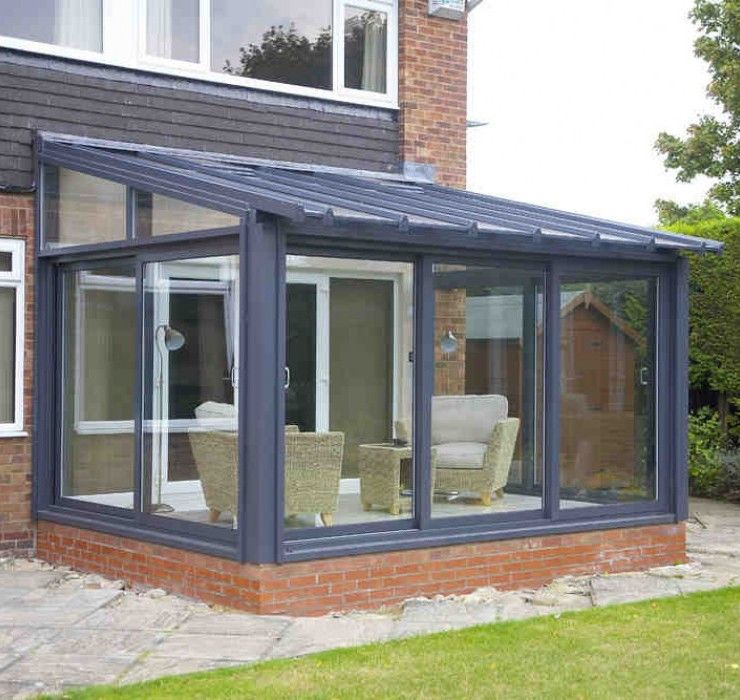 Lean to lean to conservatory eyg conservatories for Garden room lean to