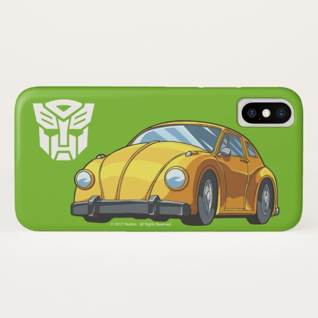 Bumblebee Car Mode iPhone X Case #bumblebee #generation1 #autobot #compactcar #bumblebee