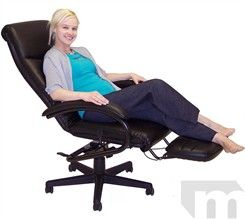 Office Chairs That Recline Amazon com VIVA OFFICE Reclining