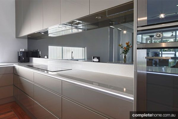 An integrated and sleek kitchen design from Carrera Kitchens ...