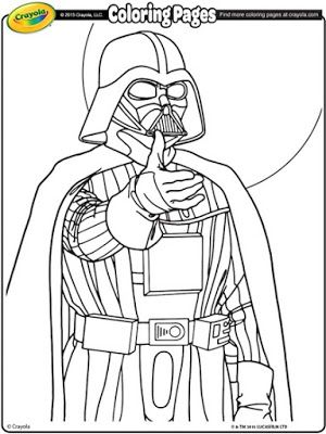 Mommy Blog Expert: Free Star Wars Crayola Coloring Pages Darth .