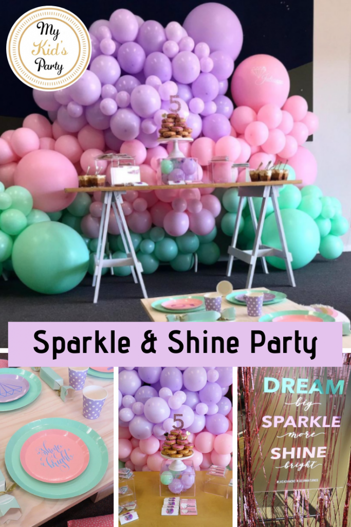 Sparkle Slime Party In 2020 Slime Party Sparkle Slime Kids Party