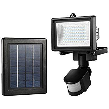 Frostfire Digital 80 Led Ultra Bright Solar Powered Motion Detector Light Amazon Com Motion Sensor Lights Motion Sensor Lights Outdoor Solar Flood Lights