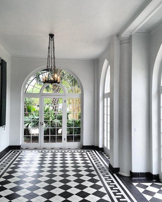 The Instagrammers Guide To Charleston SC Tile Style Checkerboard Floor Home Decor House