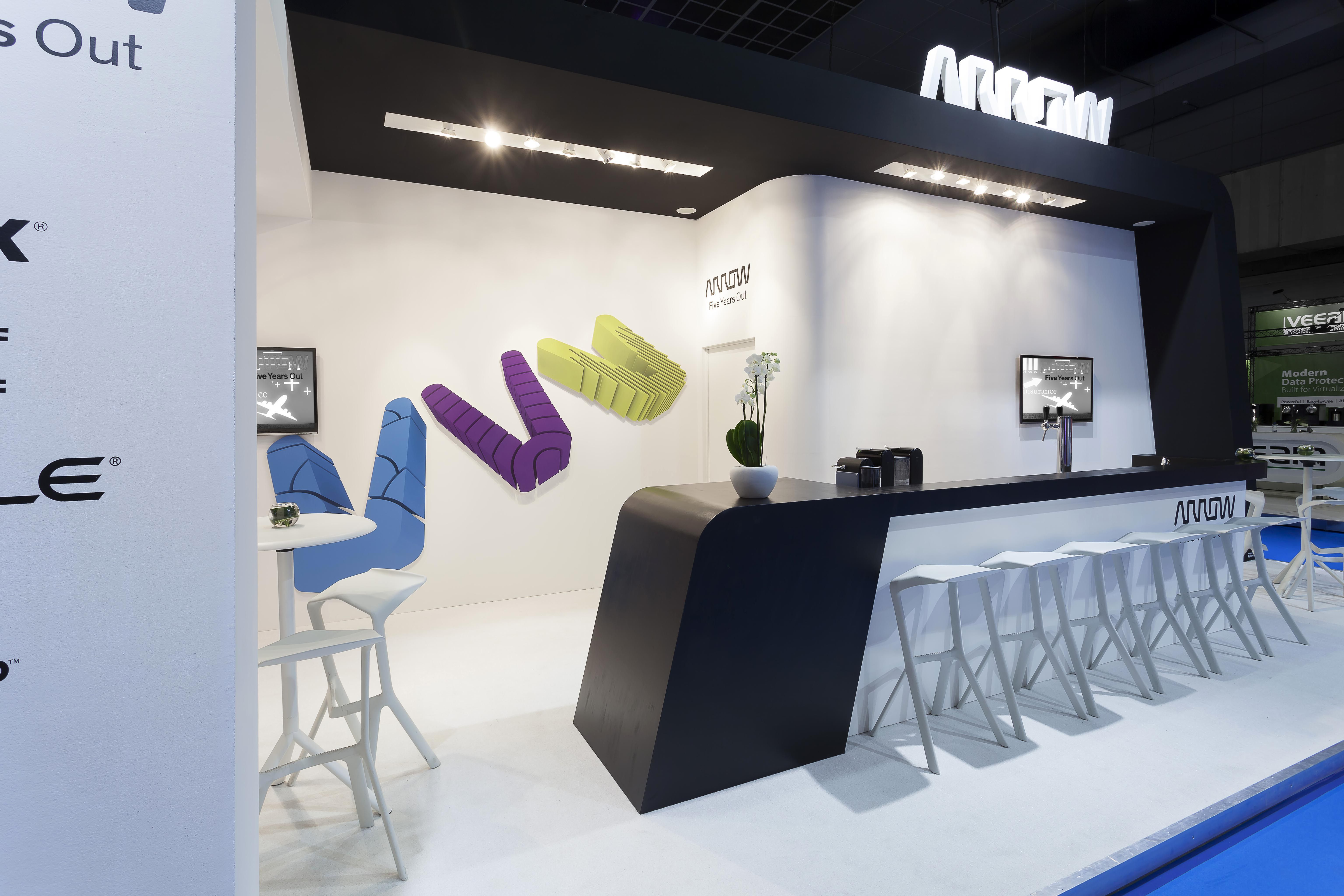 Modern Exhibition Stand Out : Exhibition infosecurity location brussels expo surface m²