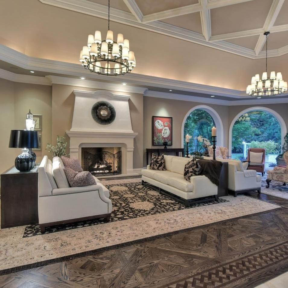 15 Luxury Living Room Designs Stunning Homes Tre Mansion