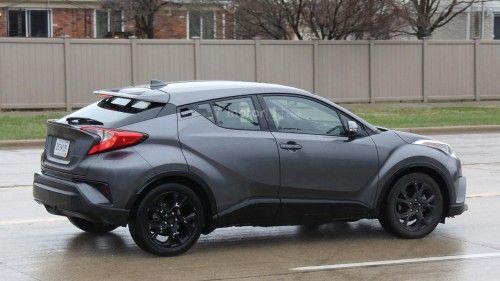 Tampilan Toyota C Hr Sang Penantang Hrv Dengan Gambar Mobil