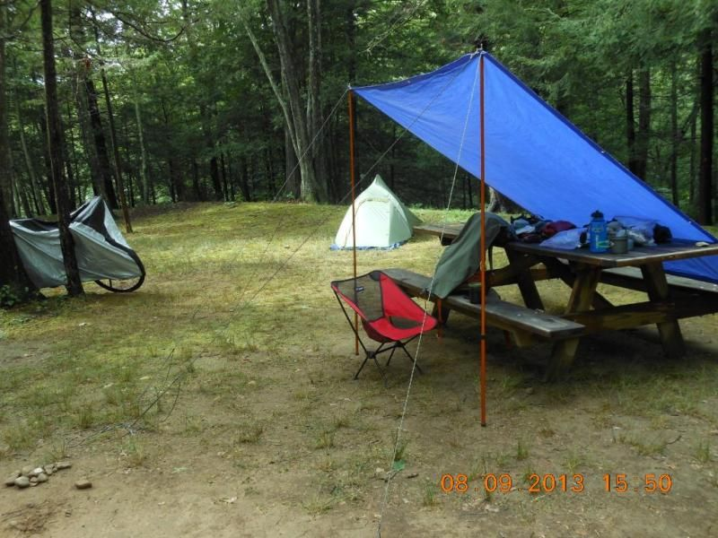 Adjustable Tarp Pole Single Anawana Tarp Poles Tent