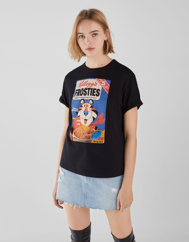 1ce1ad5e3a Kellogg's T-shirt. Kellogg's T-shirt Clothing Hacks, Girl Shirts, Printed  Tees, Spring Summer