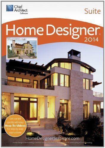 Home Designer Suite 2014 [Download] by Chief Architect, http://www ...