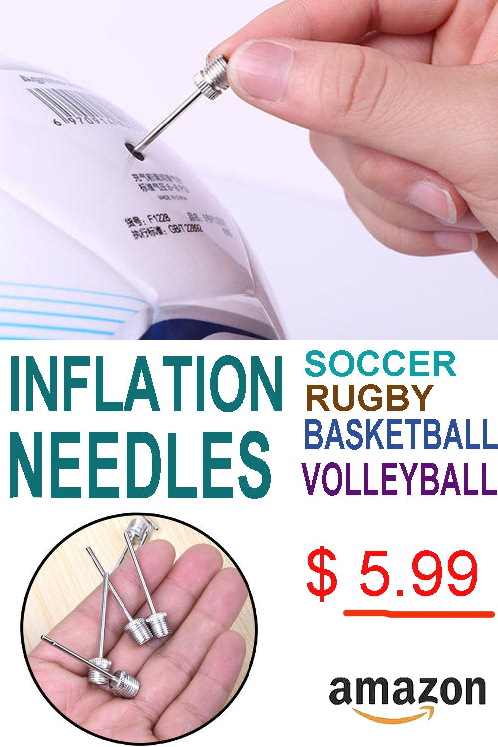5.99 soccer basketball football volleyball rugby