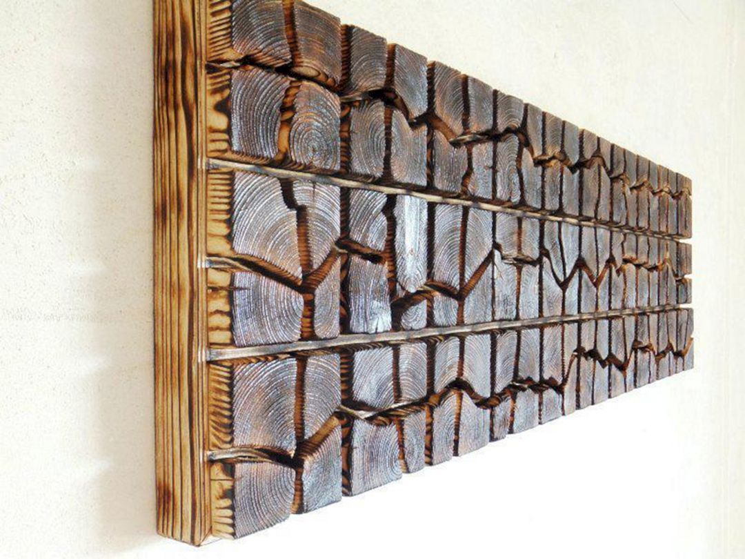12 Most Creative Wooden Wall Hanging Ideas For Your Living Room Freshouz Com Wooden Wall Hangings Unique Wall Decor Wooden Wall Art