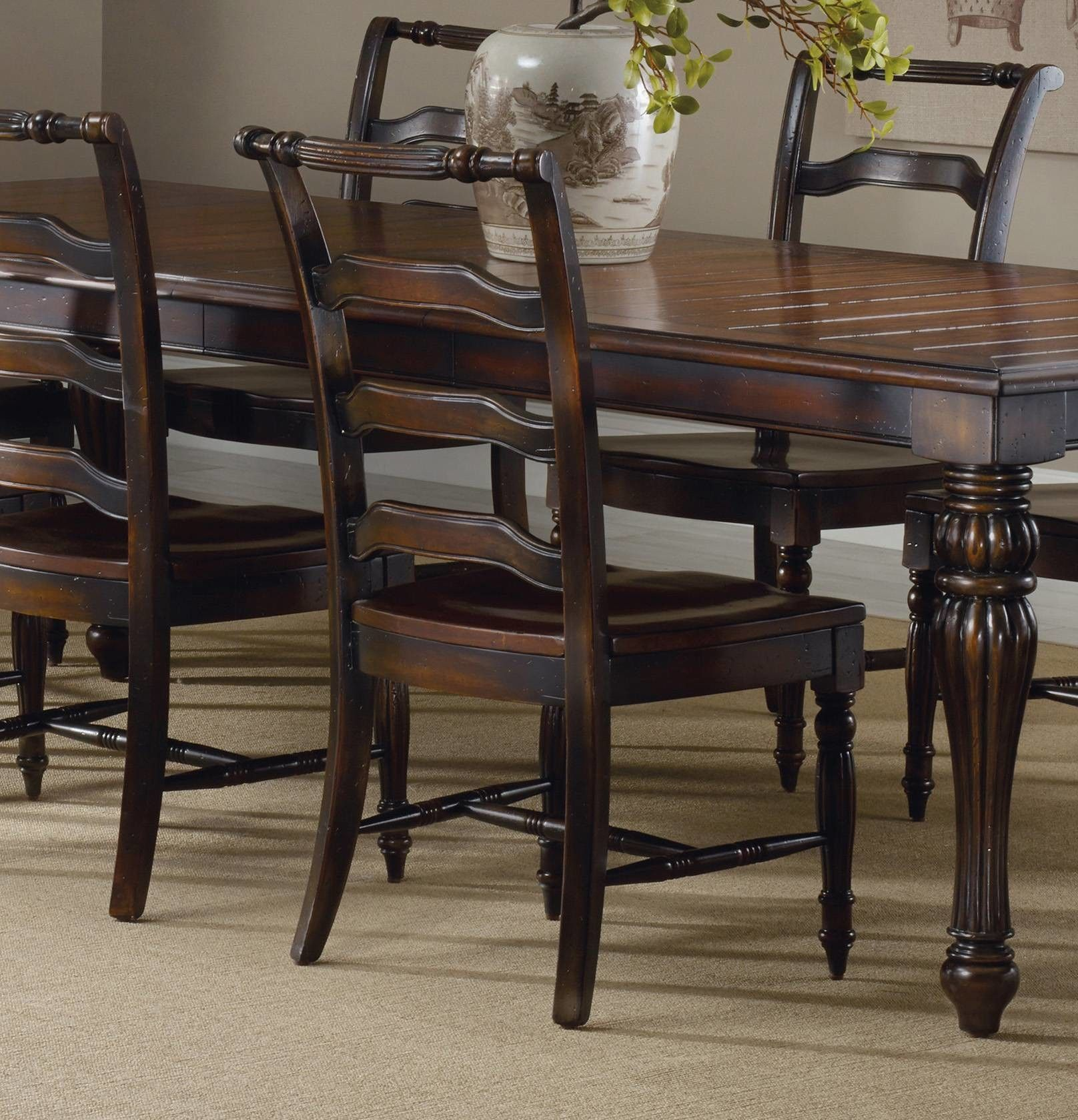 Shop For Hooker Furniture Eastridge Ladderback Side Chair And Other Dining Room Chairs At Burke Inc In Lexington KY